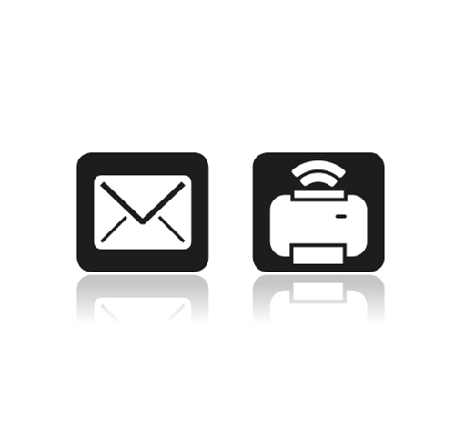 E-mail and AirPrint Function